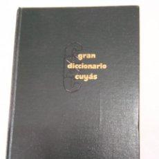 Diccionarios de segunda mano: GRAN DICIONARIO CUYAS. INGLES ESPAÑOL AÑO 1960. Lote 57163030
