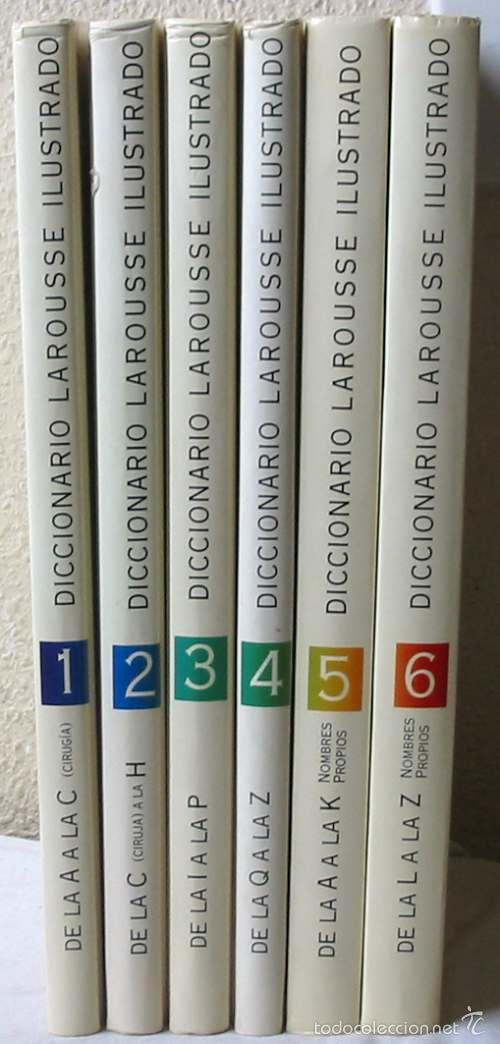 DICCIONARIO ENCICLOPEDICO LAROUSSE ILUSTRADO - 6 TOMOS COMPLETO - 1998 - VER DESCRIPCIÓN (Libros de Segunda Mano - Diccionarios)