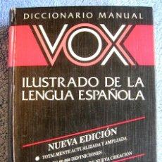Libri di seconda mano: DICCIONARIO ILUSTRADO DE LA LENGUA ESPAÑOLA, VOX DE 1993.. Lote 57491168