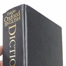 Diccionarios de segunda mano: THE CONCISE OXFORD ENGLISH DICTIONARY. Lote 57523006
