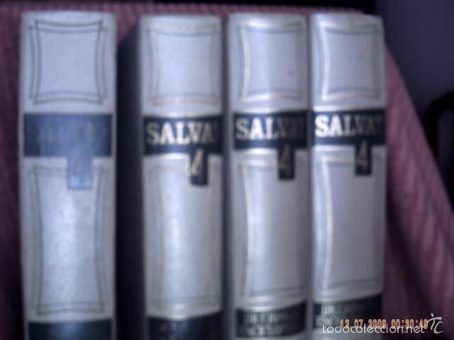 DICCIONARIO ENCICLOPÉDICO SALVAT 4 VOLÚMENES. (Libros de Segunda Mano - Diccionarios)