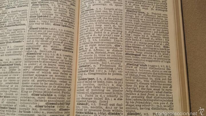 Diccionarios de segunda mano: Diccionario inglés Pocket Oxford 1961 - Foto 3 - 57892008