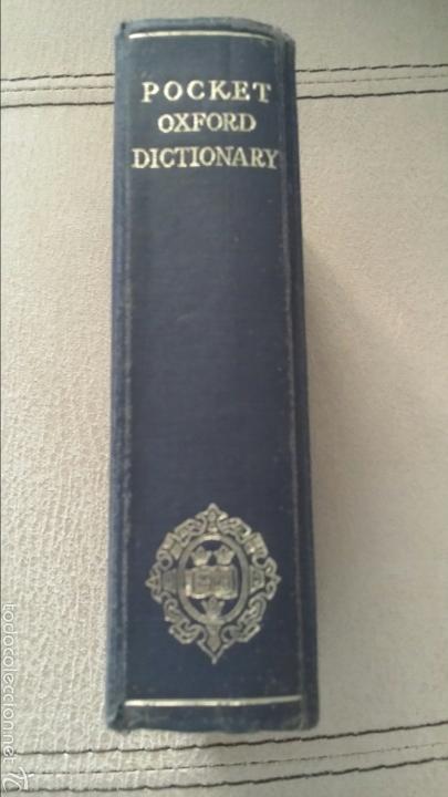 Diccionarios de segunda mano: Diccionario inglés Pocket Oxford 1961 - Foto 4 - 57892008