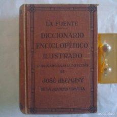 Diccionarios de segunda mano: LA FUENTE. DICCIONARIO ENCICLOPÉDICO ILUSTRADO.1942. MULTITUD DE GRABADOS. Lote 58100141
