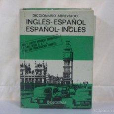 Diccionarios de segunda mano: DICCIONARIO VOX *** ESPAÑOL / INGLÉS *** BIBLOGRAF *** VER FOTOS ***. Lote 58104851