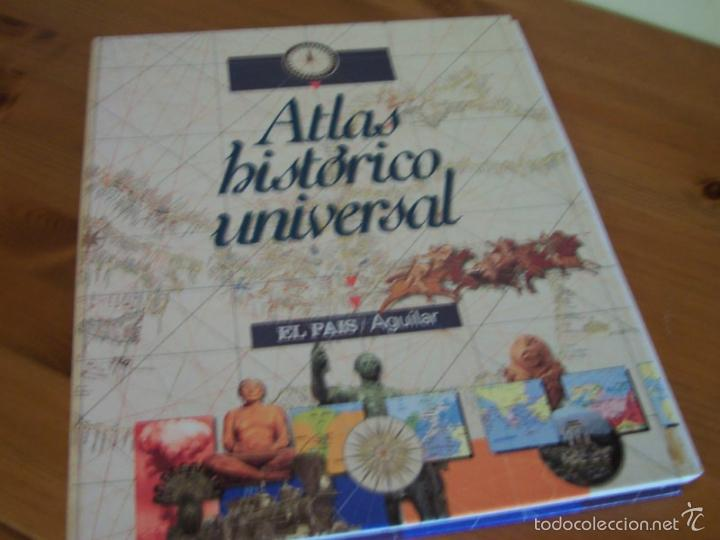 ATLAS HISTÓRICO UNIVERSAL- EL PAÍS AGUILAR (FALTA ENCUADERNAR) (Libros de Segunda Mano - Diccionarios)