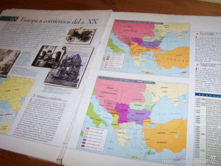 Diccionarios de segunda mano: Atlas histórico universal- El País Aguilar (falta encuadernar) - Foto 2 - 58591207