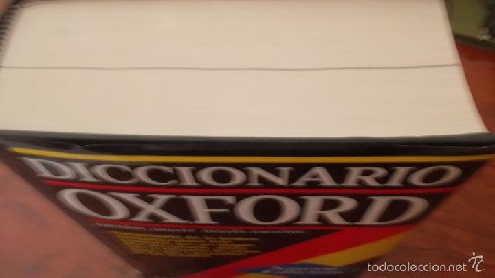 Diccionarios de segunda mano: Diccionario Oxford inglés español, español inglés. gran formato. tapa dura - Foto 3 - 59912427