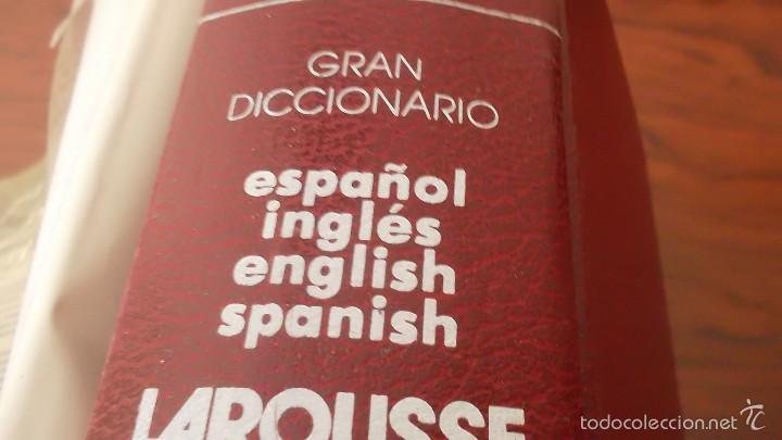 Diccionarios de segunda mano: Gran diccionario español-inglés, english-spanish larousse. tapa dura - Foto 5 - 59912963