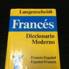 Diccionarios de segunda mano: DICCIONARIO FRANCÉS LANGENSCHEIDT. Lote 61689055