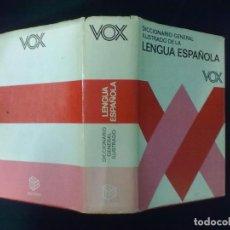 Diccionarios de segunda mano: DICCIONARIO GENERAL ILUSTRADO DE LA LENGUA ESPAÑOLA VOX 1985. Lote 64597998