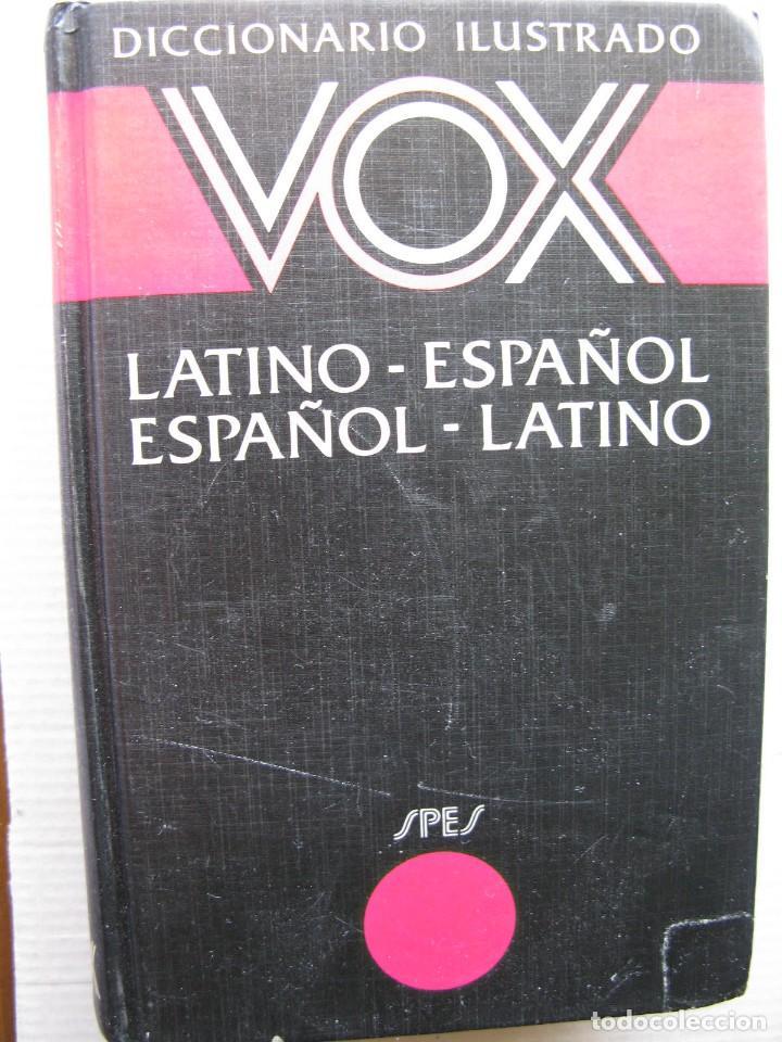 DICCIONARIO ILUSTRADO VOX LATINO - ESPAÑOL ESPAÑOL - LATINO. (Libros de Segunda Mano - Diccionarios)