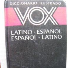 Diccionarios de segunda mano: DICCIONARIO ILUSTRADO VOX LATINO - ESPAÑOL ESPAÑOL - LATINO. . Lote 61929780
