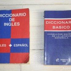 Diccionarios de segunda mano: LOTE 2 DICCIONARIOS. Lote 62198444