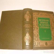 Diccionarios de segunda mano: DICCIONARIO BOMPIANI DE AUTORES LITERARIOS. VOLUMEN I: A - CZ. RMT77168. . Lote 63710211