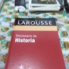 Diccionarios de segunda mano: DICCIONARIO DE HISTORIA. BIBLIOTECA DE CONSULTA LAROUSSE. EST23B1. Lote 205646828