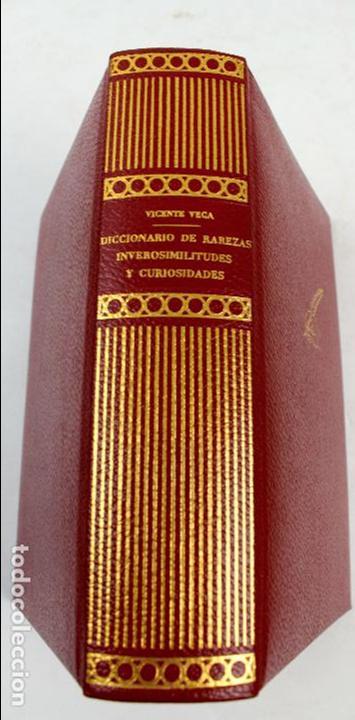 Diccionarios de segunda mano: L-4082. DICCIONARIO DE RAREZAS, INVEROSIMILITUDES Y CURIOSIDADES. VICENTE VEGA. GUSTAVO GILI, 1971. - Foto 2 - 64282495