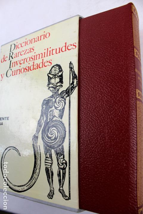 Diccionarios de segunda mano: L-4082. DICCIONARIO DE RAREZAS, INVEROSIMILITUDES Y CURIOSIDADES. VICENTE VEGA. GUSTAVO GILI, 1971. - Foto 8 - 64282495