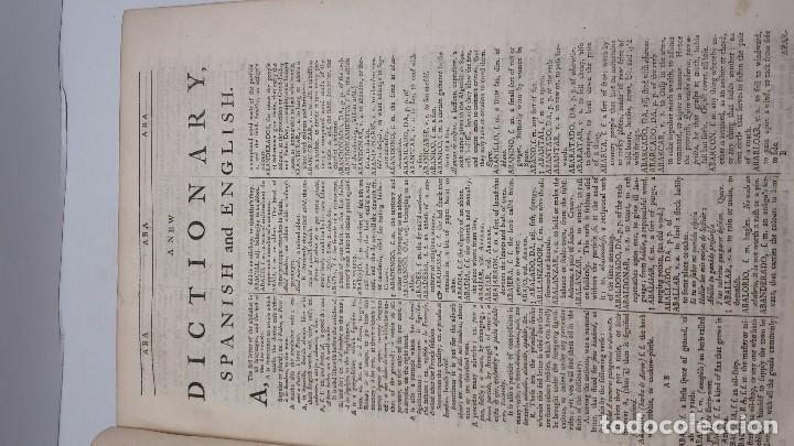 Diccionarios de segunda mano: Joseph Giral del Pino, Diccionario español e inglés,1763. - Foto 5 - 64297471