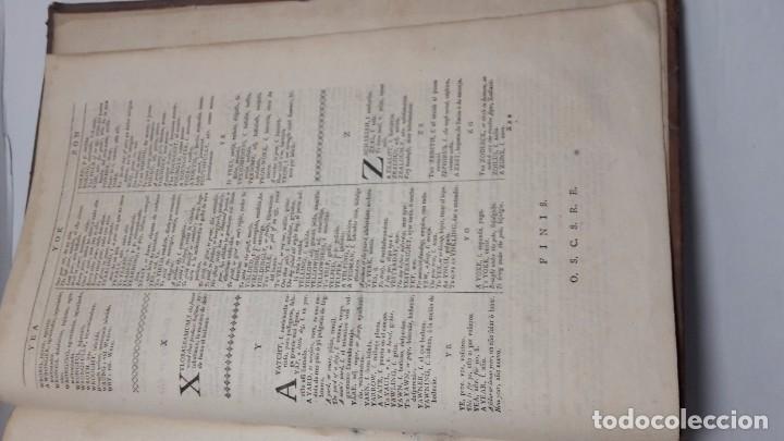 Diccionarios de segunda mano: Joseph Giral del Pino, Diccionario español e inglés,1763. - Foto 7 - 64297471