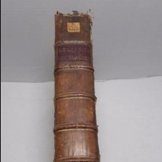 Diccionarios de segunda mano: JOSEPH GIRAL DEL PINO, DICCIONARIO ESPAÑOL E INGLÉS,1763.. Lote 64297471