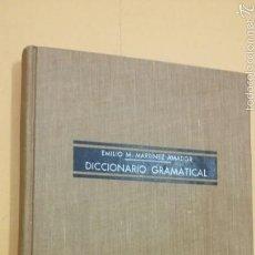 Diccionarios de segunda mano: DICCIONARIO GRAMATICAL - MARTINEZ AMADOR - TDK245. Lote 65657645