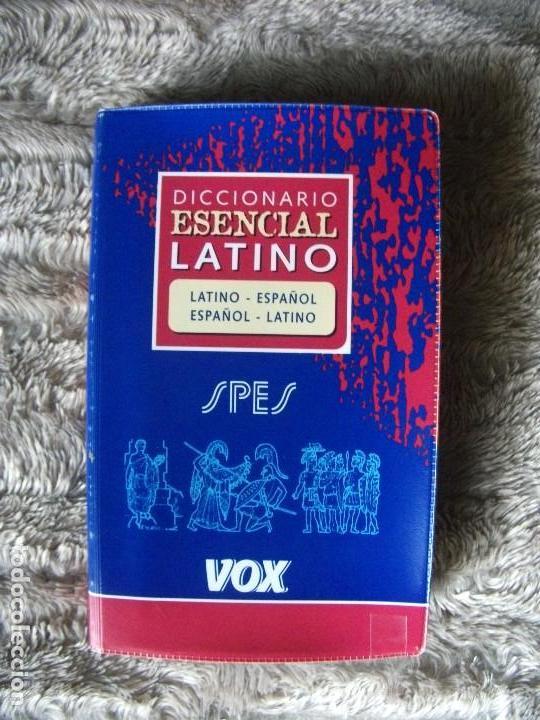 DICCIONARIO ESENCIAL LATINO, VOX (Libros de Segunda Mano - Diccionarios)