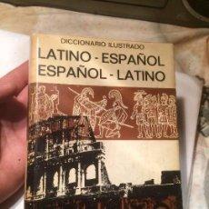 Diccionarios de segunda mano: ANTIGUO DICCIONARIO ILUSTRADO LATINO- ESPAÑOL EDITORIAL BIBLIOGRAF AÑO 1970 . Lote 68299773