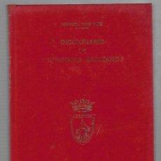 Diccionarios de segunda mano: DICCIONARIO DE ESCRITORES GADITANOS. MANUEL RIOS RUIZ. ESTUDIOS GADITANOS. 1973.. Lote 68629381