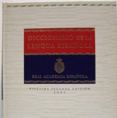 Diccionarios de segunda mano: DICCIONARIO DE LA LENGUA ESPAÑOLA. VIGÉSIMA SEGUNDA EDICIÓN 2001.. Lote 69453529