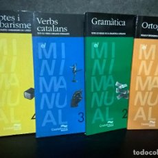 Diccionarios de segunda mano: REGLES D´ORTOGRAFIA CATALANA 4 TOMOS. VV.AA. CASTELLNOU EDICIONS 1998. EN CATALAN ( CATALA). Lote 69832641