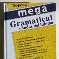 Diccionarios de segunda mano - DICCIONARIO MEGA GRAMATICAL Y DUDAS DEL IDIOMA. Emilio M. Martínez Amador - 71546807