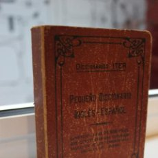Diccionarios de segunda mano: DICCIONARIO ITER. PEQUEÑO DICCIONARIO INGLES-ESPAÑOL. EDITORIAL RAMON SOPENA 1946. Lote 71850887