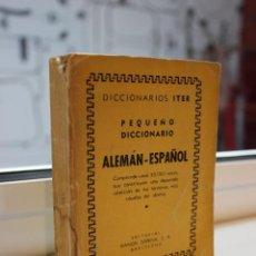 Diccionarios de segunda mano: DICCIONARIO ITER. PEQUEÑO DICCIONARIO ALEMAN-ESPAÑOL. EDITORIAL RAMON SOPENA 1958. Lote 71925587
