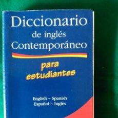 Diccionarios de segunda mano: DICCIONARIO DE INGLES CONTEMPORANEO PARA ESTUDIANTES - ENGLISH-SPANISH ESPAÑOL-INGLES. Lote 71959903