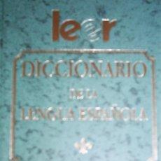 Diccionarios de segunda mano: DICCIONARIO DE LA LENGUA ESPAÑOLA. ESPASA. TAPAS DURAS. Lote 30452873
