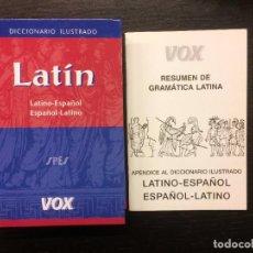 Diccionarios de segunda mano: DICCIONARIO ILUSTRADO LATINO ESPAÑOL, VOX. Lote 155818622