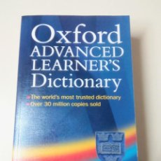Diccionarios de segunda mano: OXFORD ADVANCED LEARNER'S DICTIONARY-EDITADO POR SALLY WEHMEIR-6º ED.-ED. OXFORD UNIVERSITY PRESS. Lote 96001542