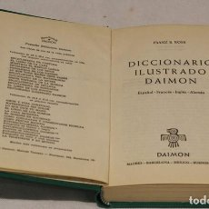 Livros em segunda mão: DICCIONARIO ILUSTRADO DAIMON POR FRANZ S. ROSS. EDITORIAL DAIMON, SEGUNDA EDICIÓN 1964.. Lote 75177113