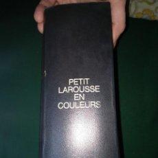 Diccionarios de segunda mano: PETIT LAROUSSE EN COLEURS. Lote 75302403