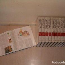 Diccionarios de segunda mano: VV.AA. DICCIONARIO ENCICLOPÉDICO LAROUSSE. ONCE TOMOS, INCLUYENDO UN SUPLEMENTO. RMT78856. . Lote 76201207