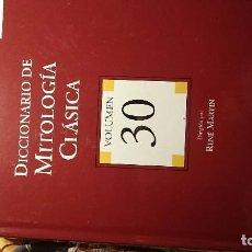 Diccionarios de segunda mano: DICCIONARIO DE MITOLOGÍA CLÁSICA. VOLUMEN 30. ESPASA & CALPE. MADRID. 2004. Lote 76624215