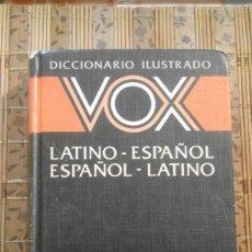 Diccionarios de segunda mano: DICCIONARIO ILUSTRADO VOX - LATINO-ESPAÑOL ESPAÑOL-LATINO. Lote 76783395