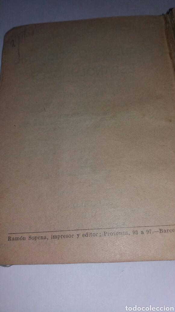 Diccionarios de segunda mano: ANTIGUO DICCIONARIO ESPAÑOL-INGLES MUY ANTIGUO - Foto 5 - 77478553