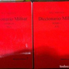 Diccionarios de segunda mano: JOSÉ ALMIRANTE. DICCIONARIO MILITAR. 2002. Lote 78460493