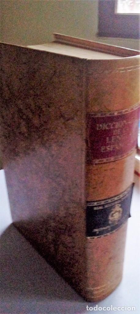 DICCIONARIO DE LA LENGUA ESPAÑOLA - REAL ACADEMIA ESPAÑOLA DECIMONOVENA EDICION 1970 - ESPASA CALPE (Libros de Segunda Mano - Diccionarios)
