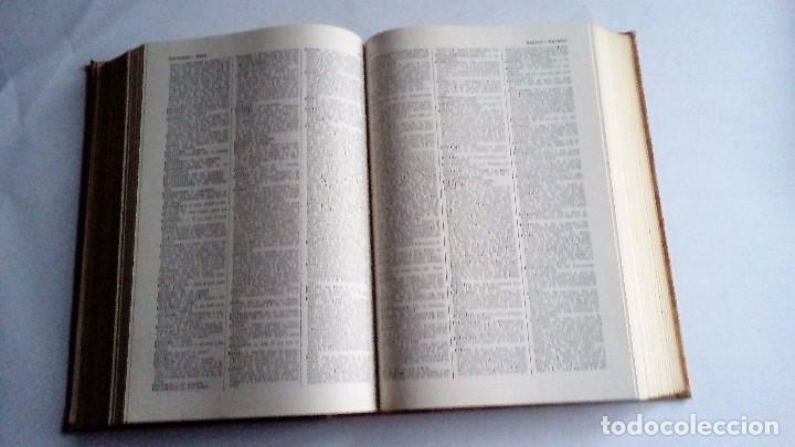 Diccionarios de segunda mano: DICCIONARIO DE LA LENGUA ESPAÑOLA - REAL ACADEMIA ESPAÑOLA DECIMONOVENA EDICION 1970 - ESPASA CALPE - Foto 3 - 178125659