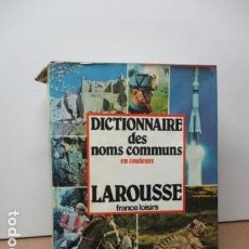 Diccionarios de segunda mano: DICTIONNAIRE DES NOMS COMMUNS EN COULEURS - (FRANCÉS) TAPA DURA + SOB. DE LAROUSSE. Lote 80409965