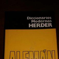 Diccionarios de segunda mano: DICCIONARIO ALEMAN-ESPAÑOL,ESPAÑOL- ALEMÁN COMO NUEVO. Lote 81104290