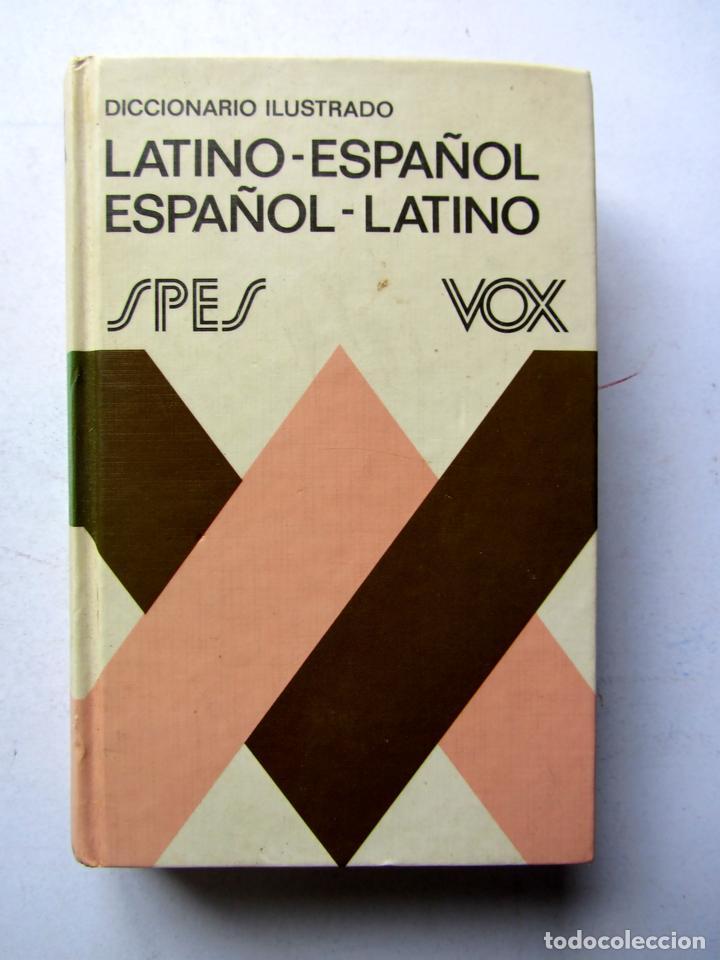 DICCIONARIO ILUSTRADO LATINO-ESPAÑOL ESPAÑOL-LATINO VOX (Libros de Segunda Mano - Diccionarios)